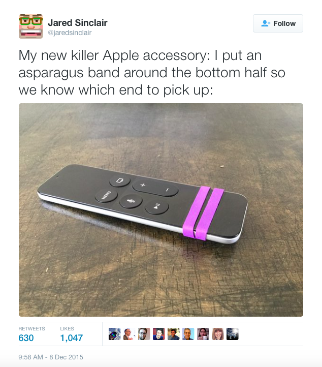 Apple TV 'Siri' Remote Fix